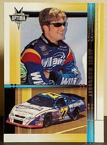 Jamie McMurray 2002 Press Pass Optima #37 Busch Rookie (#27 Williams Chevy)