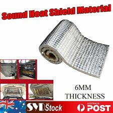 Roll 53.8sq ft Sound Deadener Auto Firewall Engine Hood Thermal Proof Foam Foil