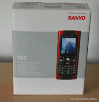 Sanyo S1 Qwest Centurylink Cellular Cell Phone RED New in Box! Never Used!
