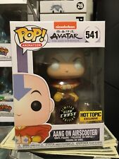 Funko Pop! Aang On Airscooter 541 Avatar The Last Airbender Chase Glow Hot Topic