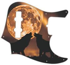 J Bass Pickguard Custom Fender Graphic Graphical Guitar Pick Guard Mojo Moon
