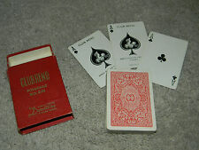 Playing cards Nice vintage deck Club Reno Pinochle   Unique Aces    Rare