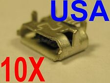 10x Lot of Micro USB Port For BlackBerry 8520 8530 8550 9300 9700 9780 9860 USA