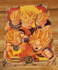DRAGONBALL Z carte Carddass Jumbo Fr N°1 Rare