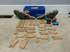 THOMAS AND FRIENDS WOODEN RAILWAY WITH TRAINS