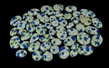 1000Crt. AA++ Natural K2 Azurite Mix Shape Cabochon Loose Gemstone 35Pcs Lot
