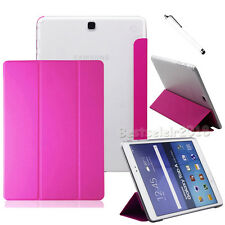 "Magnetic Leather Cover Case For Samsung Galaxy Tab A /E /S3 /S2 7"" 8"" 9.7"" 10.1"""