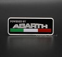 1Pcs Aluminum Car Modified Emblem Badge Sticker Logo Fits for Abarth