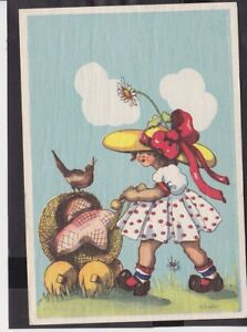 A12 /   Wiro  Kunstkarte 1948 / .. Bauer / Kinder Sommer