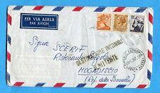 1967 SIR.£.30 + MICH.£.5 e £.100 ann.FIRENZE../P.AEREA  per MOGADISCIO  (260037)