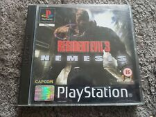 RESIDENT EVIL NEMESIS PLAYSTATION 1/2/3 BOXED COMPLETE