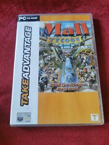 Mall Tycoon PC CD ROM TAKEADVANTAGE 2002