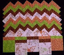 40 swinging monkeys 4x4 fabric squares quilt blocks/kit/sewing