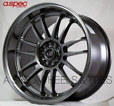 (1 wheel) 18X10 +30 ROTA SVN-R 5X114.3 HYPER BLACK RIMS wheels replacement 5x4.5