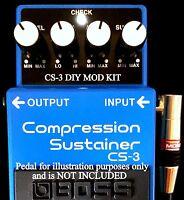 Neuf Modify Votre Boss CS-3 CS3 Supreme Mode Kit Guitare Effets Pédale Mode