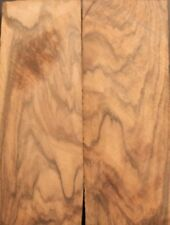 Bookmatched  English Walnut Burl Knife Scales, Pistol Grips,(1302)