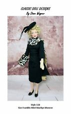 SEWING PATTERN-Style 118 Film Inspired Outfit Franklin Mint's Marilyn Monroe