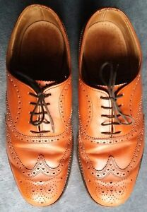 CHEANEY / CHURCH CLASSIC BROGUES – BROWN/TAN Mens Size UK 7 AVON GOOD CONDITION