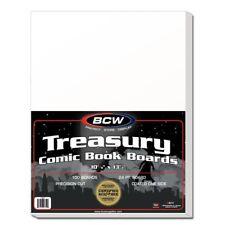(100) BCW TREASURY BACKING BOARDS
