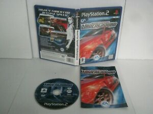 PS2 PlayStation Pal NEED FOR SPEED UNDERGROUND 383
