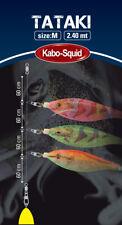 MONTATURA KABO SQUID TATAKI RIG PESCA CALAMARI TATAKI FISHING 240 CM FLUOROCARBO