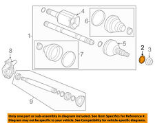 GM OEM Drive Axles-Front-Washer 11547142