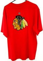 Reebok NHL T-Shirt Chicago Blackhawks Jonathan Toews #19 Red Size XL