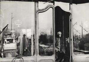 1932 Original Henri Cartier-Bresson Man Store Door Market Shop Photo Gravure Art