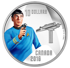 Star Trek 1/2 oz. Pure Silver Colored Coin - Spock (2016)