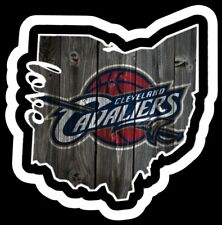Imán Cleveland Cavaliers Personalizado Vinilo Baloncesto de la NBA
