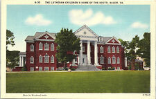 Salem, Virginia, Lutheran Children's Home of the South - Postcard (CCC)