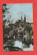 CHARTRES - La cathédrale vue du pont neuf  (J6463)