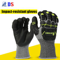 Cut Resistant Gloves Anti Impact Vibration TPR Safety Anti Cut Work Gloves