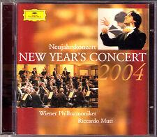 Neujahrskonzert aus Wien 2004 Riccardo MUTI 2CD New Year's Concert from Vienna