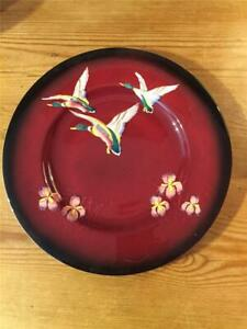 Vintage Carltonware Rouge Royale Plate Decorated with 3 Ducks 27cm