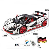 Rennwagen RS Auto 42056 42083 42065 42110 Technic Blöcke MOC Bausteine Bauteile