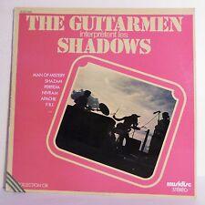 """33T THE GUITARMEN interprète LES SHADOWS Disque Vinyle LP 12""""  - MUSIDISC 1440"""
