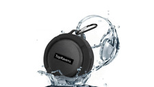 Portable Waterproof Bluetooth Shower Speaker Suction Cup Micro SD Card Slot