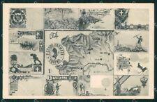 Militari Reggimentale I Corpo Armata Torino 1904 ABRASA cartolina XF6895