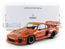 NOREV Porsche 935 1:18 Voiture Miniature Moulée Sous Pression - Orange (187435)