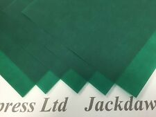 25 x A4 160gsm Racing Green Vellum Translucent Cardmaking Scrapbooking AM703