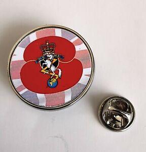 R.E.M.E Poppy Military lapel  Badge / Key Ring  / Fridge Magnet