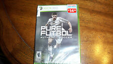 Pure Futbol  (Xbox 360, 2010) BRAND NEW FACTORY SEALED UPC CODE ON THE SIDE