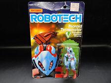 1985 vintage Matchbox ROBOTECH Bioroid Terminator MOC sealed Macross figure MIP!
