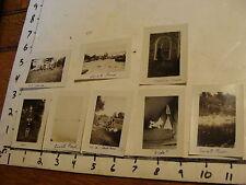 Vintage John Palmer Learned Photos: 8 photos 1920'S lOVELL POND, TROPHY, CAMP