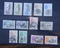Sierra Leone 1956 - 1961 set to £1 Fine Used (2d MM)