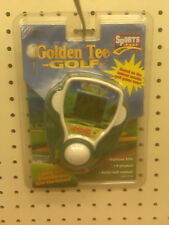 NEW - TIGER ELECTRONICS  - GOLDEN TEE GOLF - ELECTRONIC GOLF GAME - MADE IN 1999