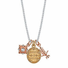 DISNEY FROZEN SPIRITS OF NATURE CRYSTAL CHARM NECKLACE OFFICIAL #frozennecklaces