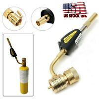 Gas Self Ignition Turbo Torch Regulator Brazing Soldering Welding Plumbing Gun