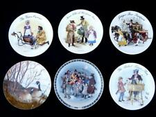 6 vintage collectable limited edition plates 5x Wedgwood and one other Bradex